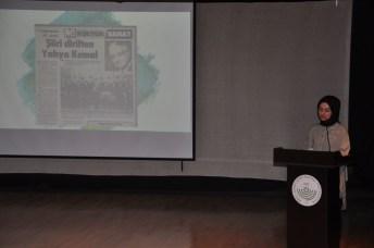 DSC 0120 - Türk Dili ve Edebiyatı Bölümü Öğrencileri, Yahya Kemal Beyatlı'yı Anlattılar