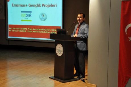 DSC 0945 - Erasmus Koordinatörlüğü Gençlik Projelerini Tanıttı