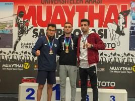 muay thai 2 - Üniversitemiz İki Türkiye Şampiyonası'ndan Ödüllerle Döndü
