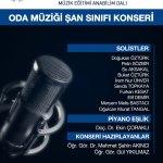odamuziğiafis - Oda Müziği Şan Sınıfı Konseri