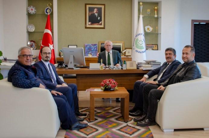 DSC 6910 - Gerede Belediye Başkanı Mustafa Allar'dan Rektör Alişarlı'ya Ziyaret