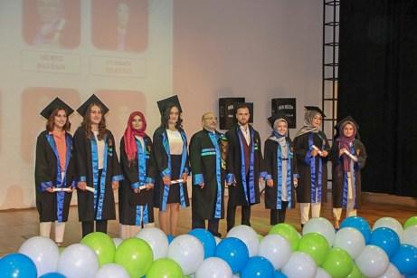 1 - BAİBÜ Gerede Uygulamalı Bilimler Yüksekokulu'nda Mezuniyet Töreni Yapıldı