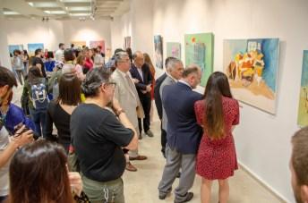 DSC 3163 - Güzel Sanatlar Fakültesi Öğrencilerinin Mezuniyet Sergisi Açıldı