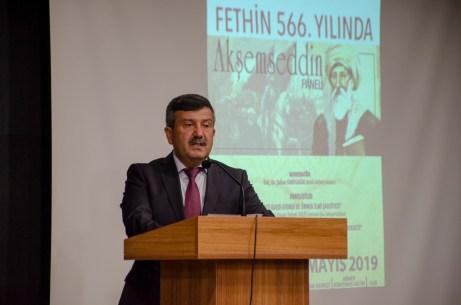 DSC 3653 - AKİMER, İstanbul'un Fethinin 566. Yılında Akşemseddin'i Düzenlediği Panelle Andı