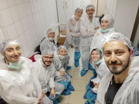 IMG 20190503 WA0000 - Gıda Mühendisliği Öğrencilerine Erpiliç'te Uygulamalı Eğitim