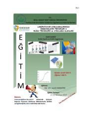 mmünolojik Teknikler I Eğitimi 1 - YENİGIDAM- Elisa Teknikleri ve Uygulama Alanları Eğitimi Hk. Duyuru