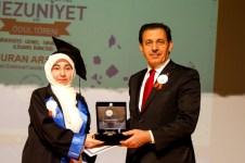 DSC 3510 - 2018-2019 Akademik Yılı Mezuniyet ve Ödül Töreninde Gurur ve Başarı