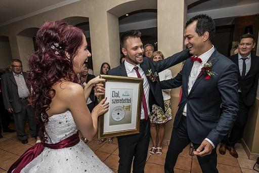 Egyedi nászajándék: Enci és Feri kapták esküvőre