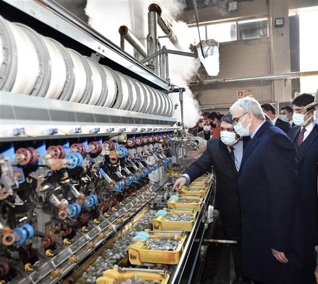 Karaloğlu'ndan Bursa'daki ipek üreticilerine işbirliği çağrısı