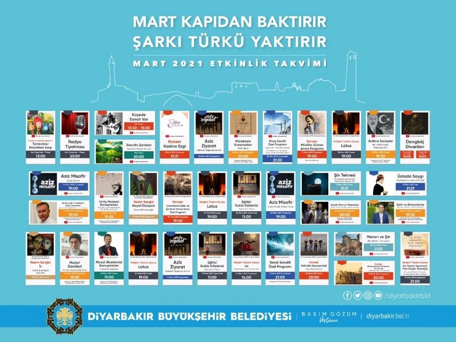 Diyarbakır'da kültür sanat etkilikleri
