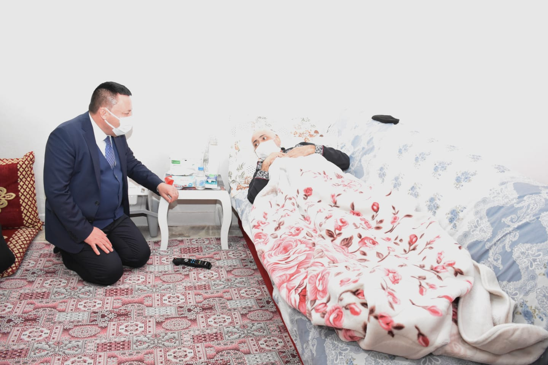 Beyoğlu'dan Kanser Hastasına Moral Ziyareti