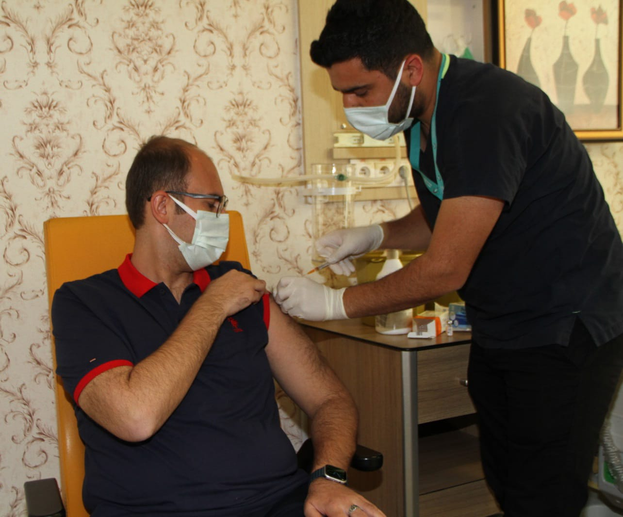 Başkan Türkmen COVID-19 aşısı oldu