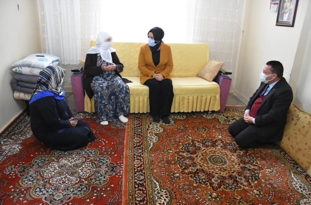 Başkan Beyoğlu, vatandaşlarla buluşmaya devam ediyor
