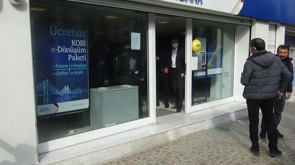 Diyarbakır'da banka soygunu girişimi