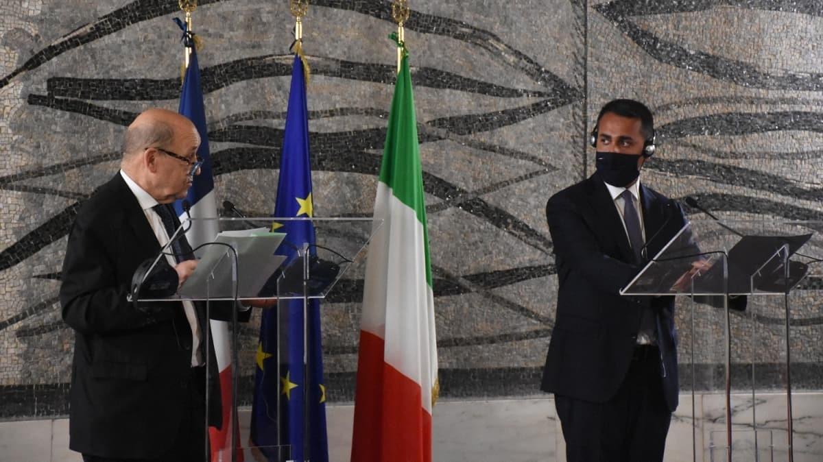 Fransa, Almanya ve İtalya dışişleri bakanlarından Libya ziyareti