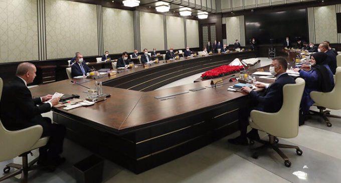 Kabine Toplantısı bugün yapılıyor