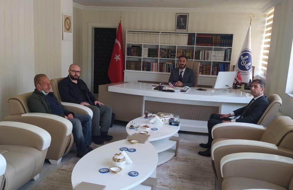 MHP heyeti İl Müftüsü Karabayır ile istişarede bulundu