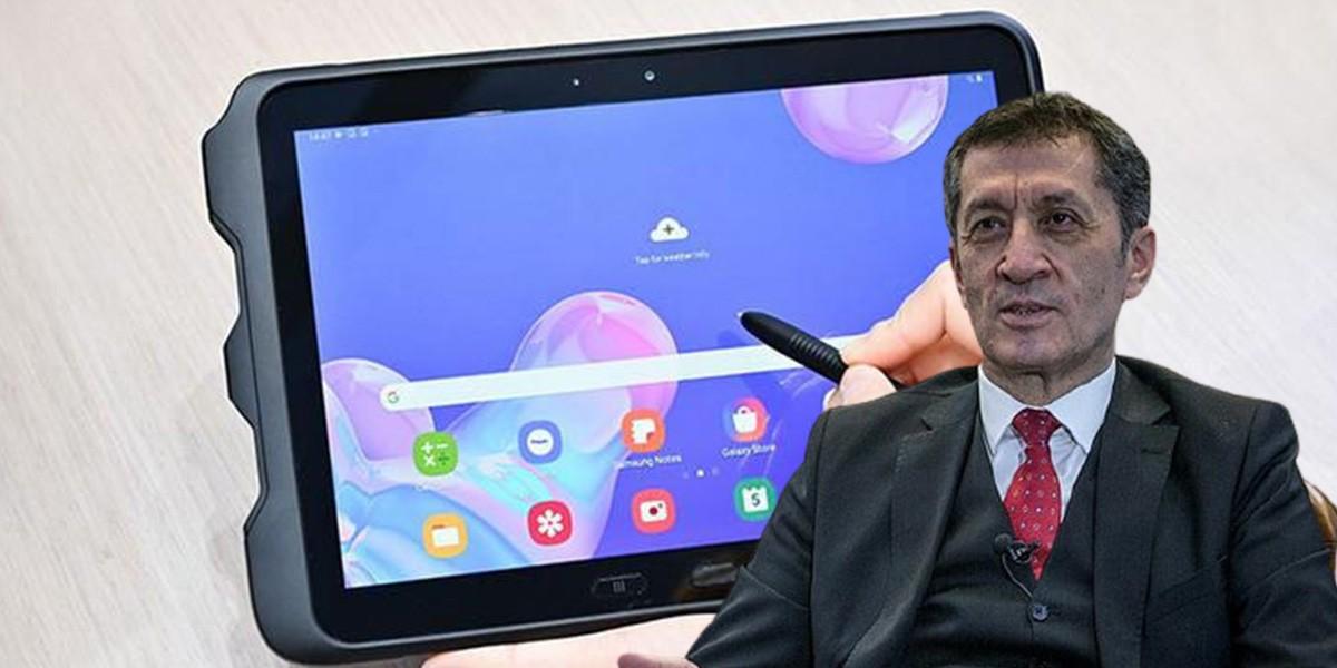 Bakan Selçuk'tan 'tablet bilgisayar' açıklaması
