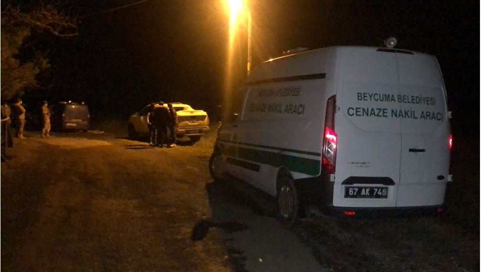 Zonguldak'ta bir baba Oğlunu öldürüp ormana gömdü