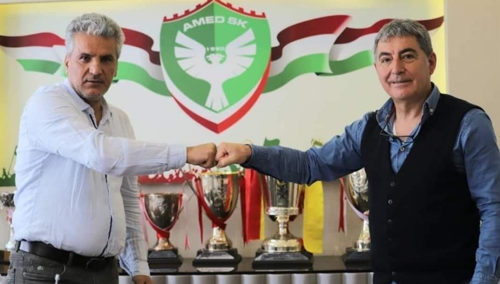 Amedspor yeni teknik direktör ile anlaştı