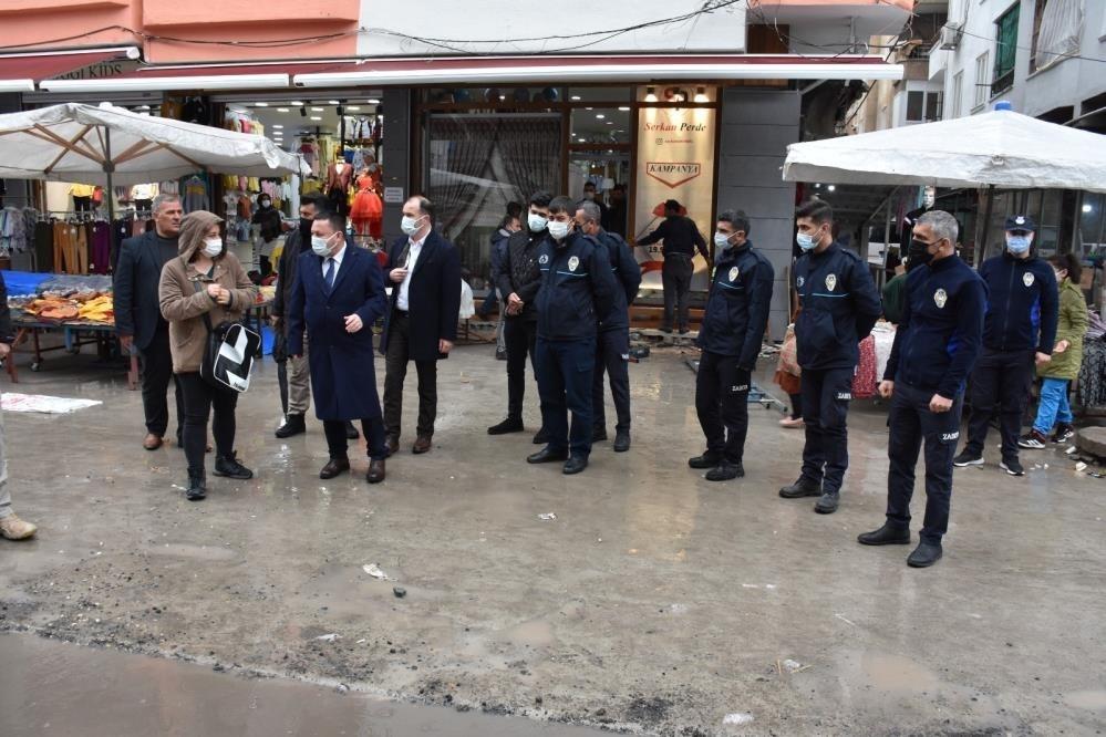 Sakarya Caddesi'nde restorasyon çalışmaları tamamlandı