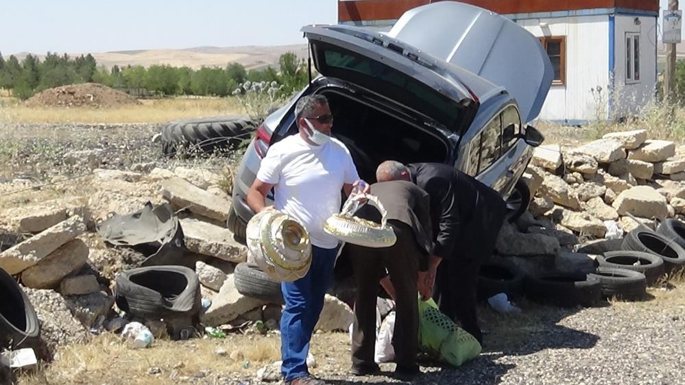 Diyarbakır'da Düğüne giderken kaza: 2 Yaralı