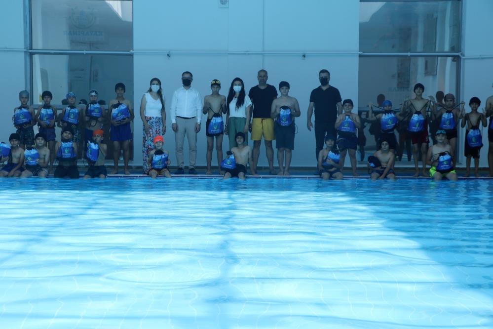 Kayapınar'da 'Yüzme Bilmeyen Kalmasın' projesi