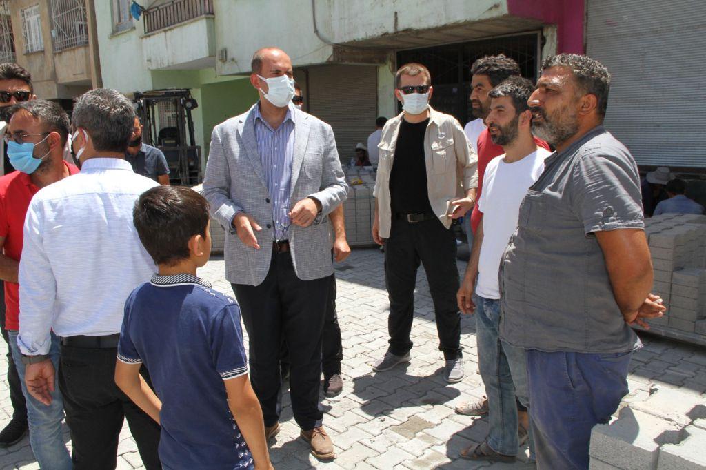 Türkmen: Bu Yıl Sanayi Mahallesinin Yol Sorununu Bitireceğiz