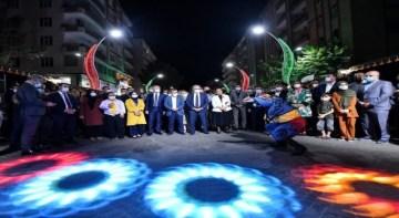 Diyarbakır Sanat Sokağı modern şekilde yenilendi