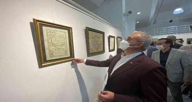Diyarbakır'da Çizgide Ahenk ve Zarafet Hat Sergisi açıldı