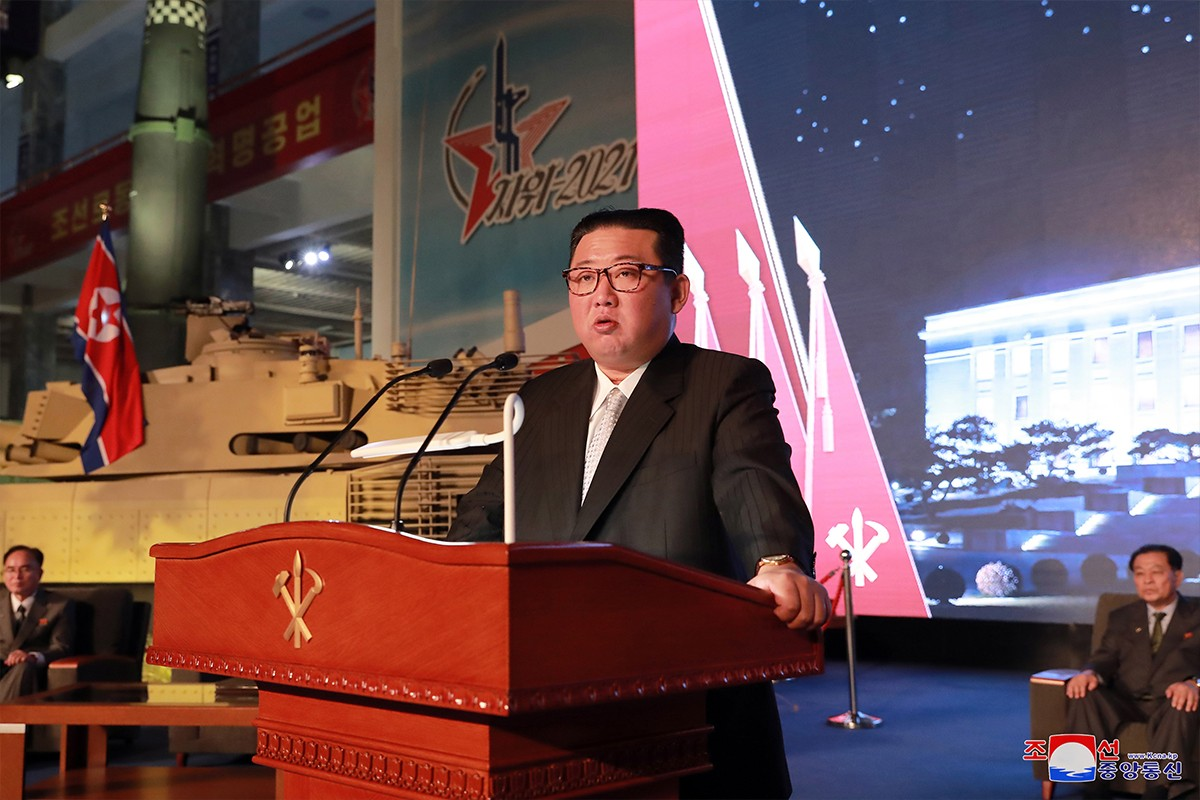 Kuzey Kore lideri Kim: Düşmanımız savaşın kendisidir