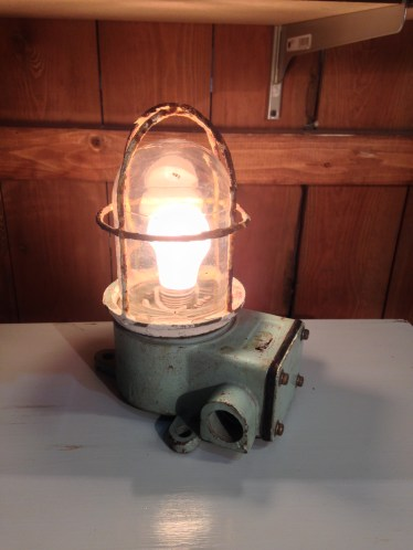 Industrial Cage Lamp
