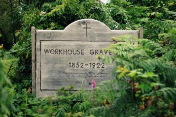 workhouse graveyard, Oughterard
