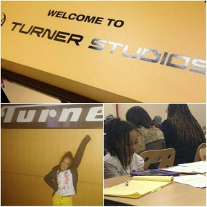 Table read at Turner Studios for Sinful Paradise