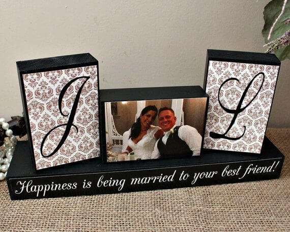 glass wedding gift ideas