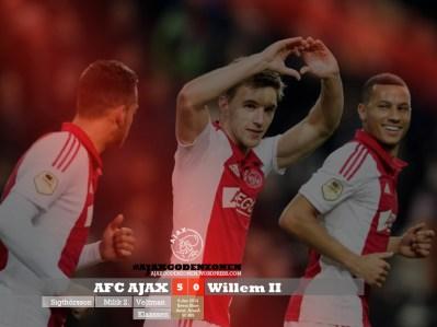 Ajax 5-0 Willem II