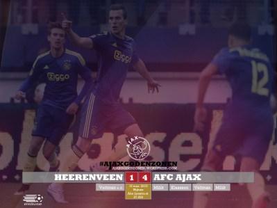 EREDIVISIE Heerenveen 1-4 Ajax
