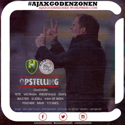 OPSTELLING ADO-Ajax