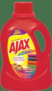 AjaxRainbow3DDetergent60OZ