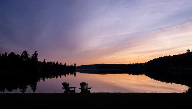 Algonquin at Sunset