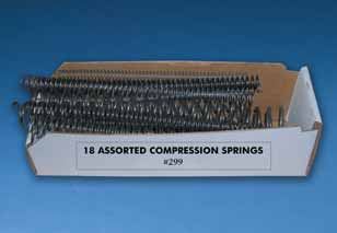 No. 299 compression spring assortment