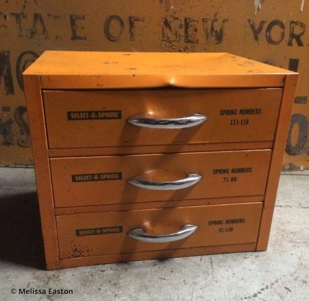 Select-A-Spring drawers