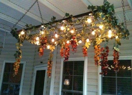 bed spring chandelier