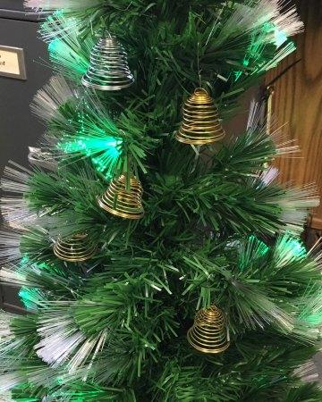 springle bells Christmas ornaments