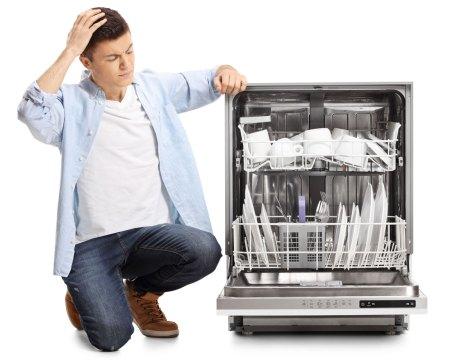 dishwasher door spring