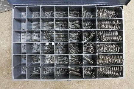 Number 348 compression spring assortment