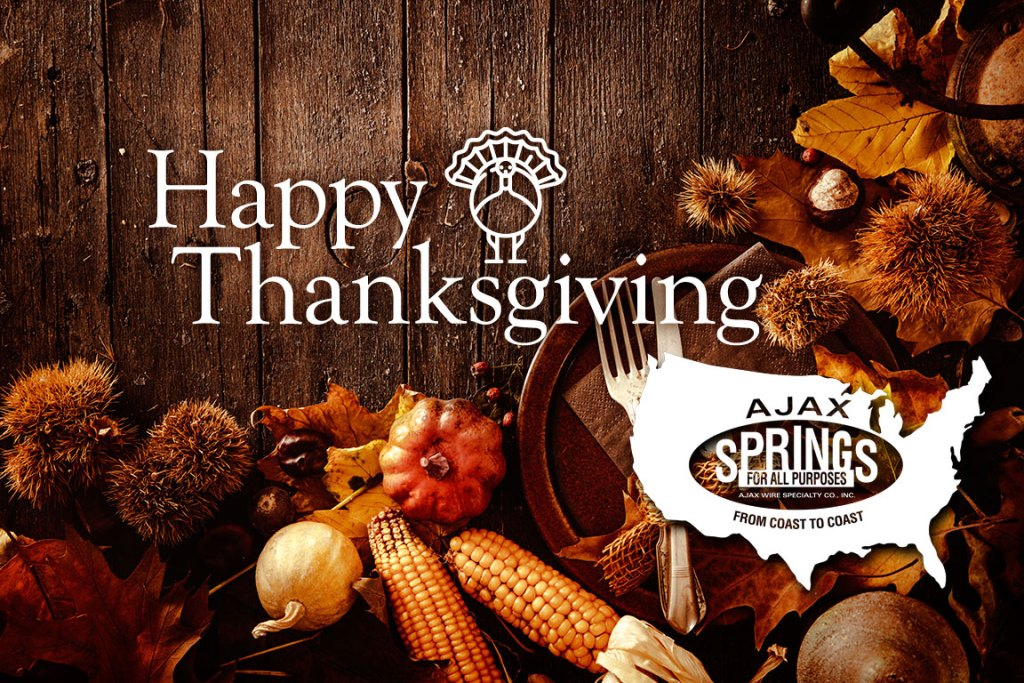 Happy Thanksgiving from Ajax Springs