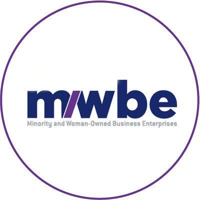 Minority and Woman-Owned Business Enterprise Logo