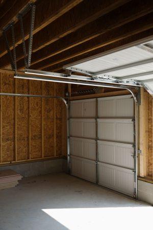 garage door from the inside