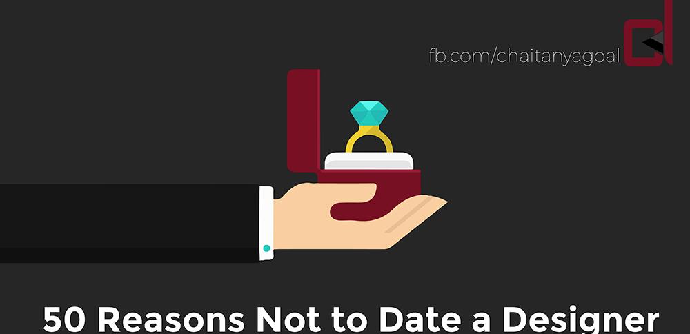 50 Reasons Not Date Designer | Ajay Kumar Pandey author